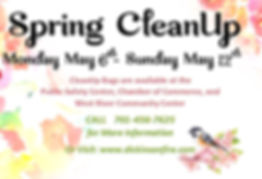 Spring CleanUp Advertisement.jpg