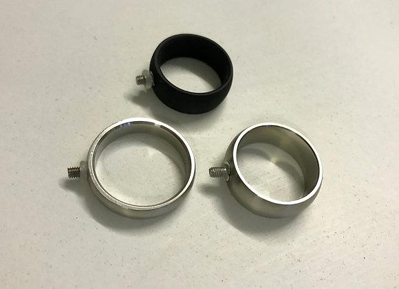 Base anello acciaio 8 mm