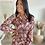 Thumbnail: Robe chemise TERRA DI SIENNA bordeaux