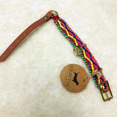 Collier pour chiens STILLHUTTE camel multicolore