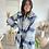 Thumbnail: Manteau à carreaux bleu