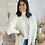Thumbnail: Gilet/veste blanche tout doux
