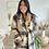 Thumbnail: Manteau à carreaux gris et beige