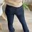 Thumbnail: Pantalon AMALYA bleu marine avec poches