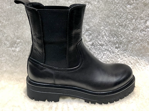 Boots cuir noir 223