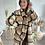 Thumbnail: Manteaux long à carreaux beige