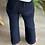 Thumbnail: Pantalon MATHILDE bleu marine