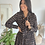Thumbnail: Robe JOYA courte plissée noire