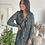 Thumbnail: Robe courte JOYA vert sapin