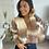 Thumbnail: Gilet ISABELLE avec épaules bouffantes
