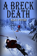 Book cover for mystery book A Breck Death