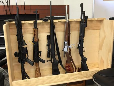 Rifles and Shotguns, oh my!