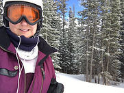 Alec Peche skiing in Breckenridge, CO