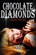 Book cover for mystery novel Chocolate diamonds