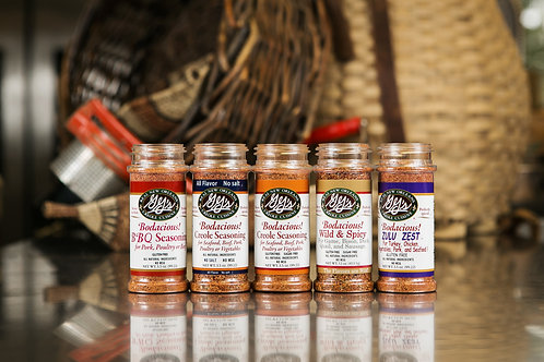 Bodacious Creole! Seasoning Line | Sampler Set