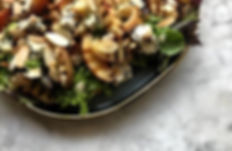 Seasonal and simple salads - Grilled nec