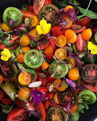 Heirloom tomato salad #pippasfood.jpg