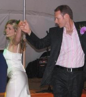 Sian's first dance with Adey