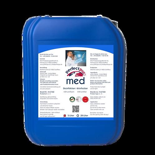 Desinfektionsmittel PERFECT PUR MED - 5 L