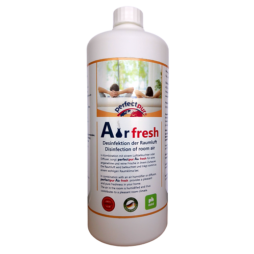 "Desinfektion der Raumluft ""perfectpur Air fresh"" 1 L"