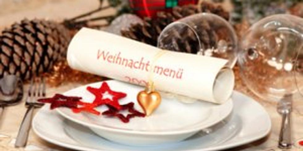 Weihnachtliches Showkochen - gesund - abwechslungsreich - lecker - vielseitig