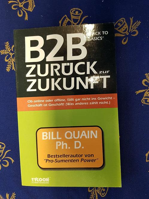 """Buch der Woche """"B2B - zurück zur Zukunft"""""""