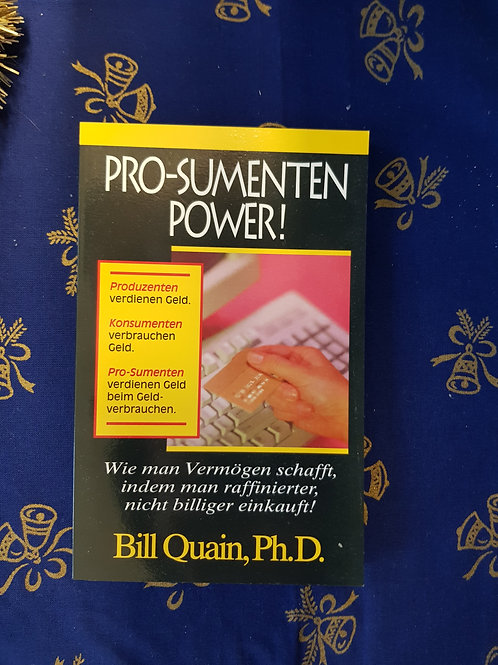 "Buch ""PRO-SUMENTEN POWER"""