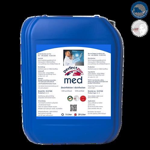 Desinfektionsmittel PERFECT PUR MED / Gewerbe - 20 L