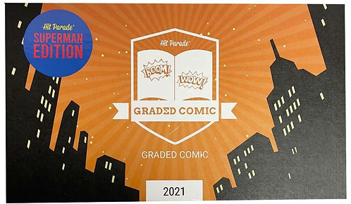 Superman Graded Comic Edition Hobby Box