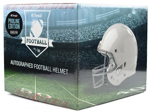 Autographed Proline Football Helmet Hobby Box