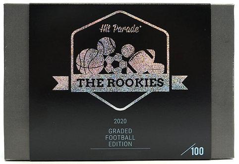 The Rookies Graded Football Edition Hobby Box