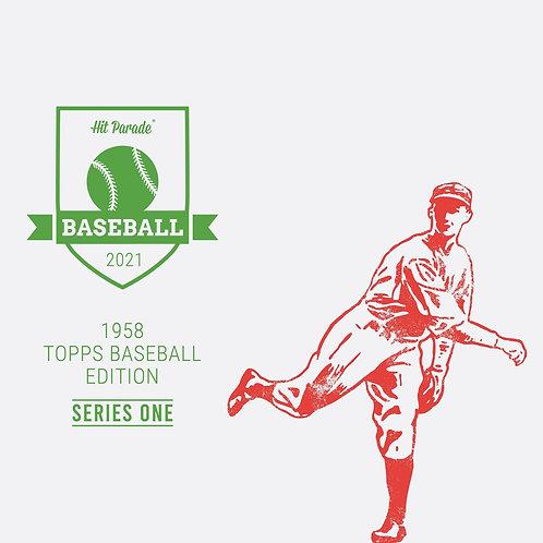 1958 Topps Baseball Edition Hobby Box