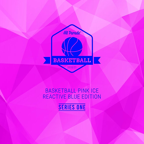 Basketball Pink Ice Reactive Blue Edition Hobby Box