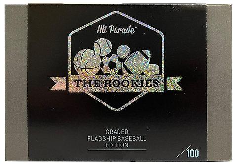 The Rookies Graded Baseball Flagship Edition Hobby Box