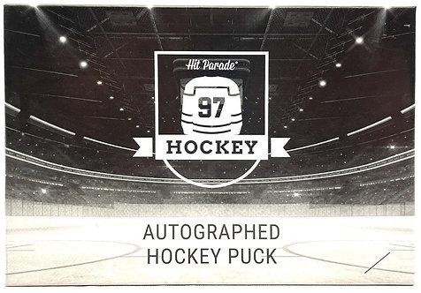 Autographed Hockey Puck Hobby Box