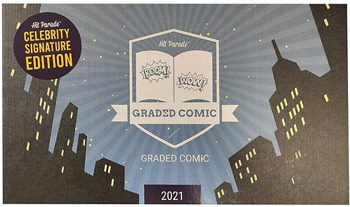Celebrity Signature Series Graded Comic Edition Hobby Box