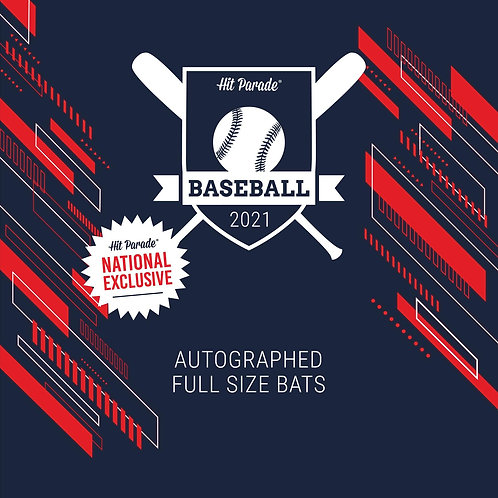 National Exclusive Autographed Baseball Bat Hobby Box