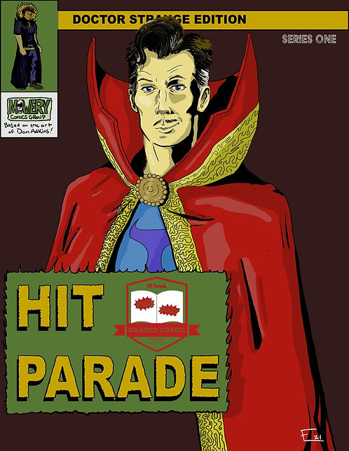 Dr. Strange Graded Comic Edition Hobby Box