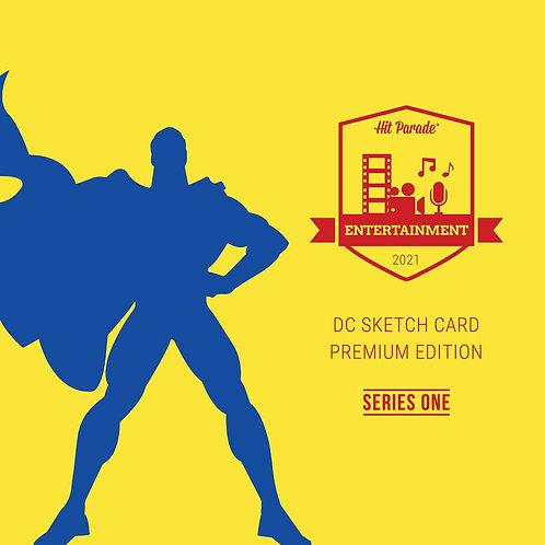 DC Sketch Card Premium Edition Hobby Box