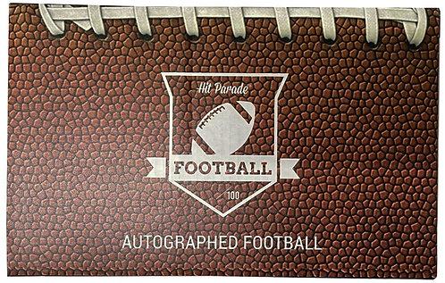 Autographed Football Hobby Box