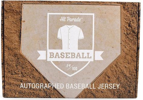 Autographed Baseball Jersey Hobby Box