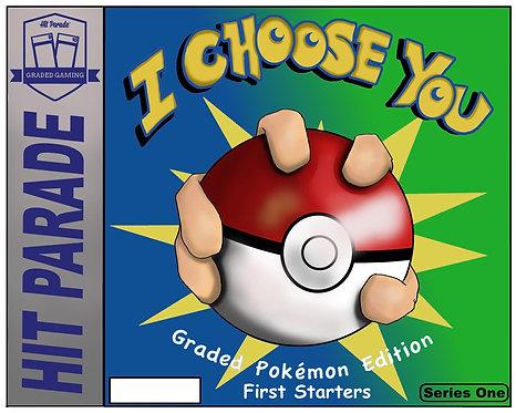 "Pokemon ""I Choose You - First Starters"" Hobby Box"
