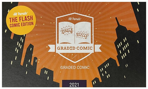 The Flash Graded Comic Edition Hobby Box