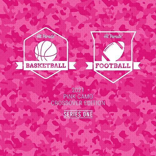 Mosaic Football & Basketball Pink Camo Crossover Edition Hobby Box