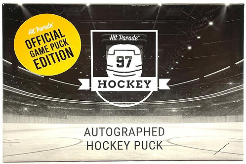Autographed Hockey Official Game Puck Edition Hobby Box