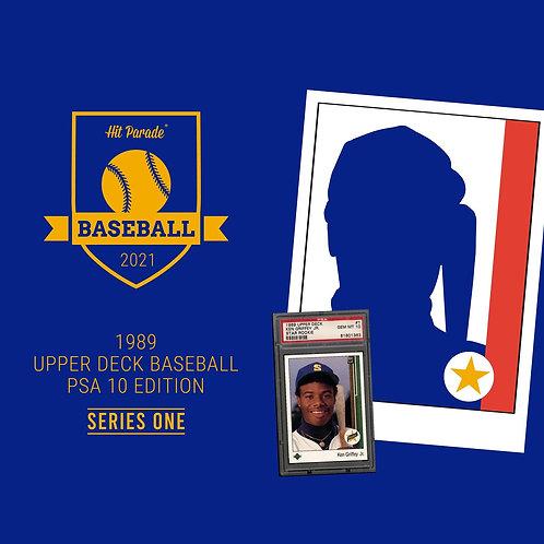1989 Baseball PSA 10 Edition Hobby Box