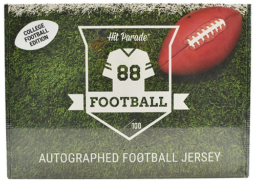 Autographed College Football Jersey Hobby Box