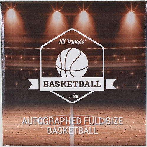 Autographed Full-Size Basketball Hobby Box