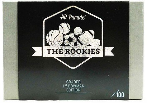 The Rookies Graded 1st Bowman Edition Hobby Box