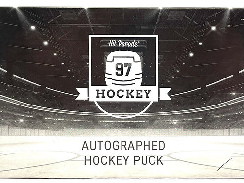 Autographed Hockey Puck Edition Hobby Box